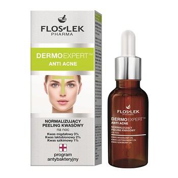 FlosLek Pharma Dermoexpert, Anti-Akne, normalisierendes Säurepeeling, 30ml