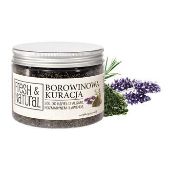 Fresh Natural Torfbehandlung, Salz mit Torf, Algen, Rosmarin und Lavendel, 500 g
