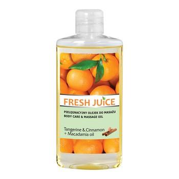 Frischer Saft, pflegendes Massageöl, Mandarine Zimt Macadamiaöl, 150 ml