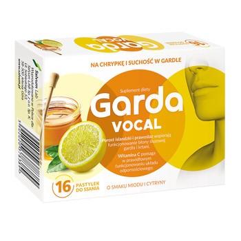 Garda Vocal, Lutschtabletten, 16 Stk.