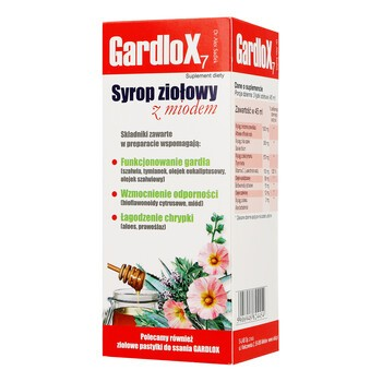 Gardlox 7, Kräutersirup mit Honig, 120 ml