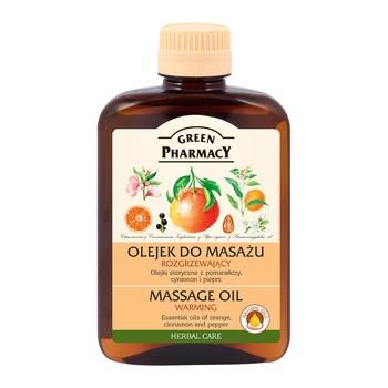 Green Pharmacy, Massageöl, wärmend, 200 ml