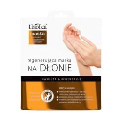 L Biotica, regenerierende Handmaske, 26 g (getränkte Handschuhe)