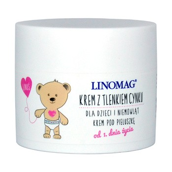 Linomag, Creme mit Zinkoxid für Kinder und Babys, 50 ml