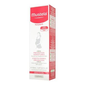 Mustela Maternite, Creme gegen Dehnungsstreifen, 3 in 1 Aktion, geruchlos, 150 ml