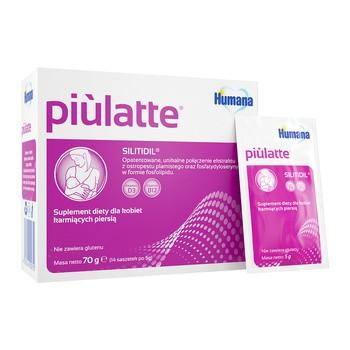 Piulatte, Pulver in Beuteln, 5 g, 14 Stk.
