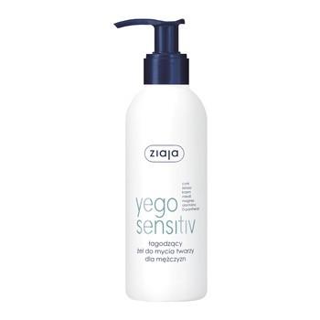 Ziaja Yego Sensitiv, Beruhigendes Gesichtsreinigungsgel für Männer, 200 ml