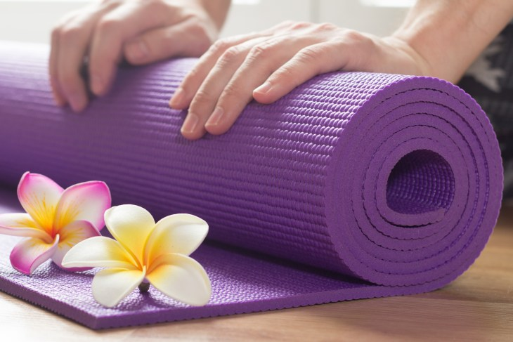 How to give yourself a massage with restorative yoga