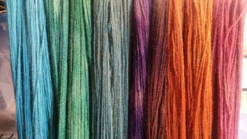 Solid Color Hand Dyed Yarn