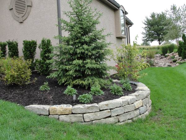 landscape & retaining wall design
