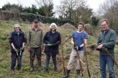 Wild Oxford Project volunteers