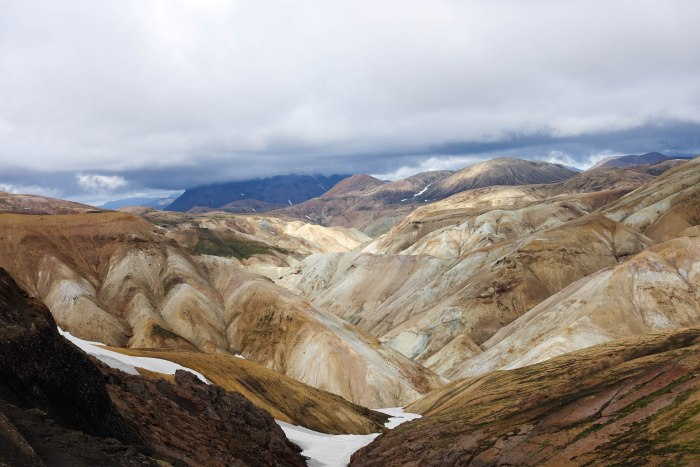 Laugavegur mountains