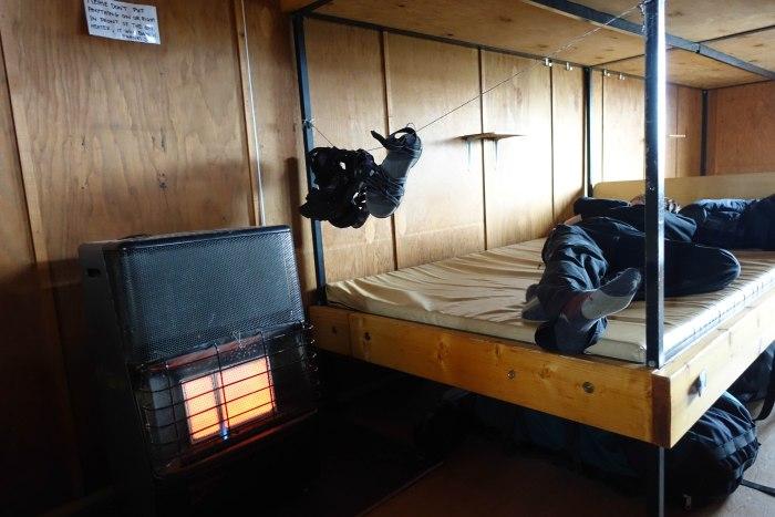 Laugavegur bunk in the huts