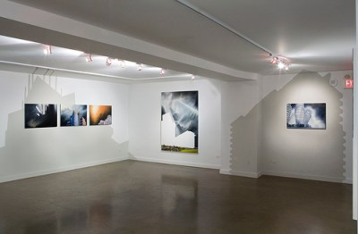 """Installation of """"The Space to be."""" at Toronto Free Gallery, Toronto, ON, 2007"""