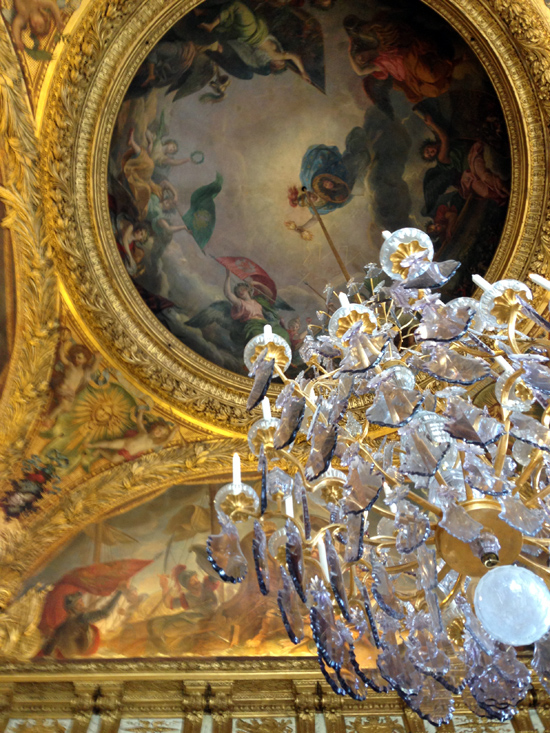 I love the painted ceilings in Europe...