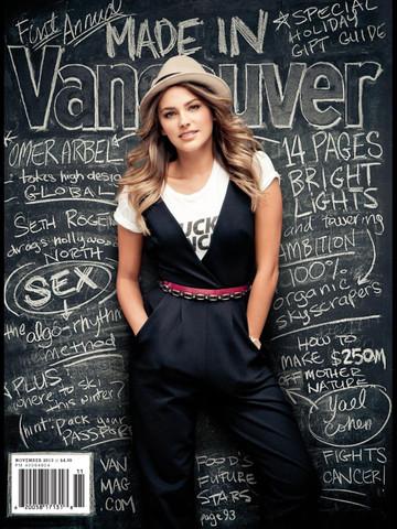 Vancouver Magazine, November 2013