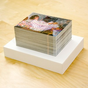 200 Wishes, Stack of 200 postcards, Dimensions variable, 2011