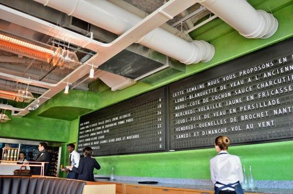 Champeaux brasserie in Paris.