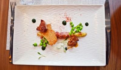 Lunch at Les Fables de la Fontaine restaurant in Paris.
