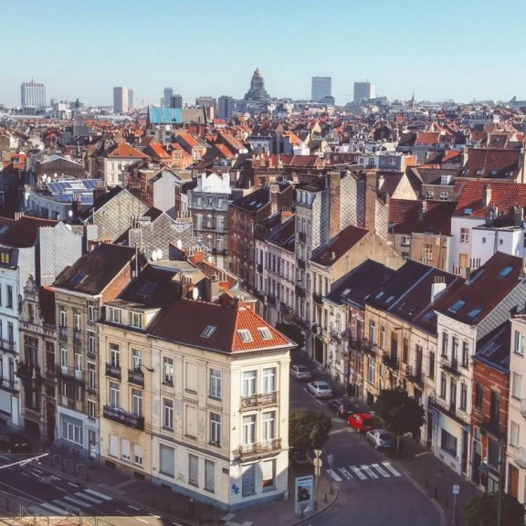 View of the City of Brussel