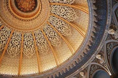 Inside the Monserrate Palace