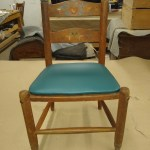 Upholstery Childs Chair - After - 2020