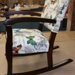 Upholstery Childs Rocking Chair - After 2 - 2016