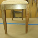 Upholstery Foot Stool - After - 2020