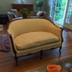 Upholstery Love Seat 2 - After - 2019