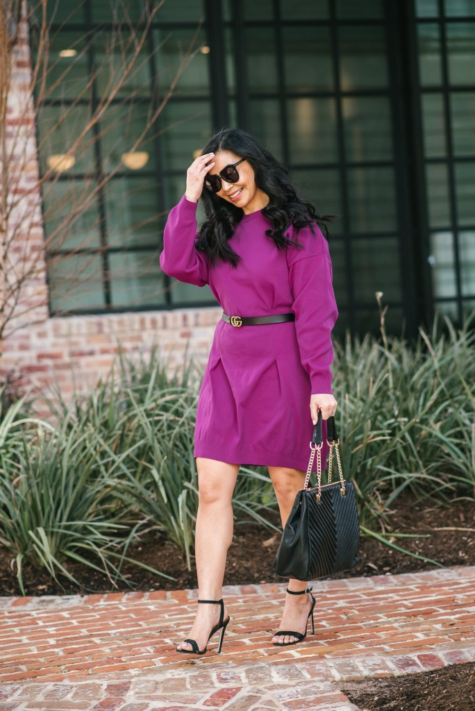 purple-dress-for-work
