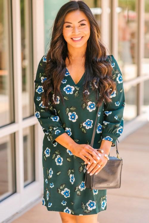 floral-dress-for-work
