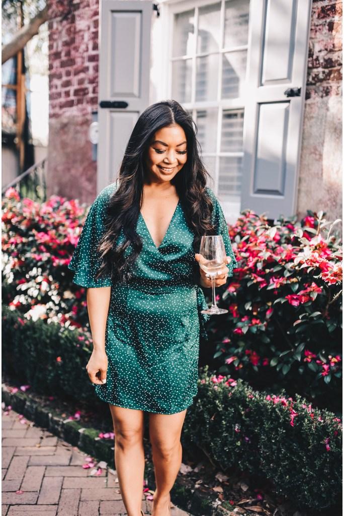 green-wrap-dress