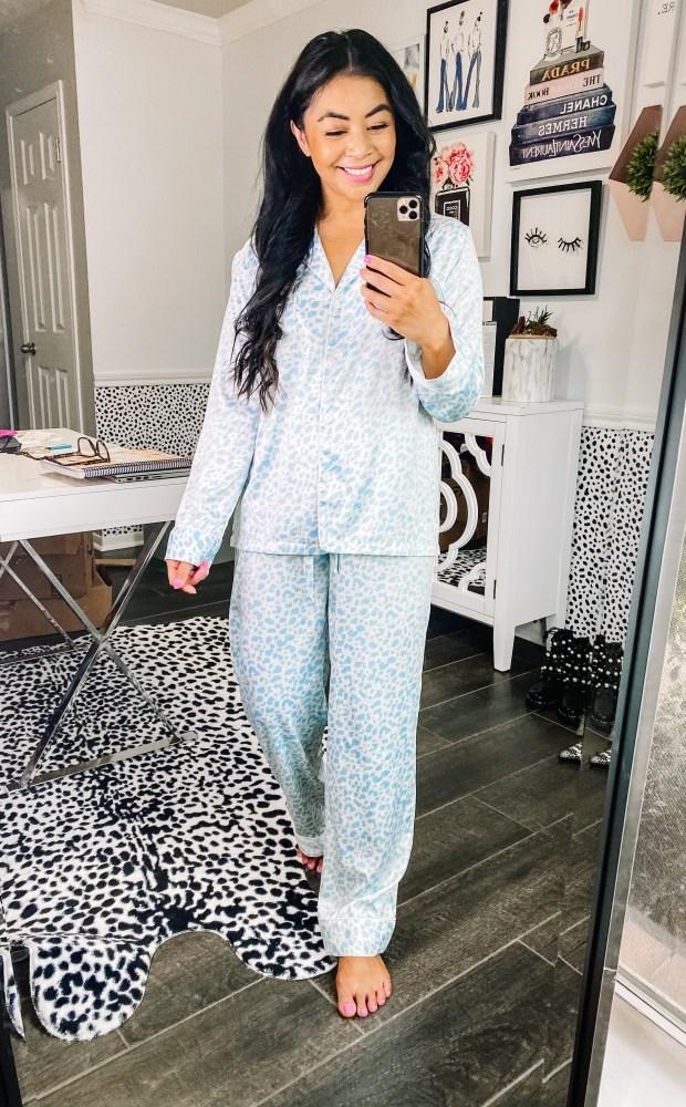 leopard-print-pajama-set