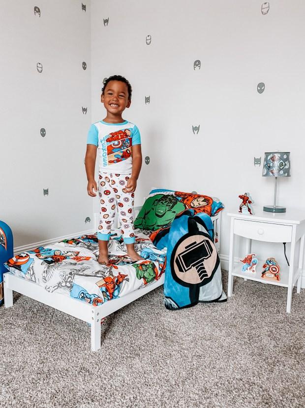 spiderman bed set