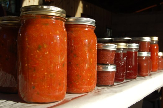 Summer canning