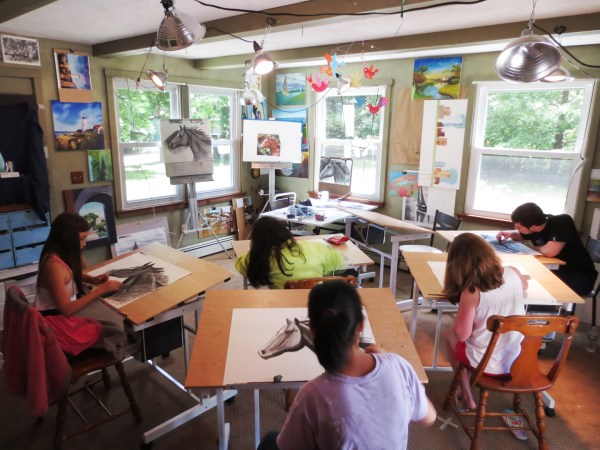 Sign August Summer Art Classes Children And Teens Afternoon Open Rosemarie