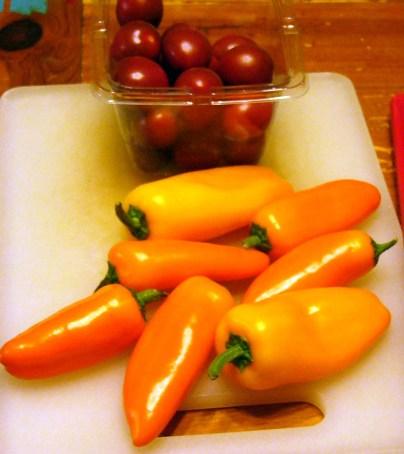 Colorful Spicy Lemon-Garlic Shrimp Linguine (1)