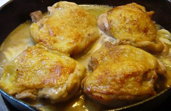 Awesome Garlic Chicken thighs (6)