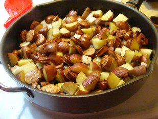 Italian Chicken Sausage & Potatoes (9)