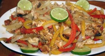 Chicken Fajitas (3)