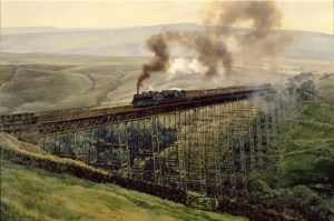 Paintings of Steam Trains