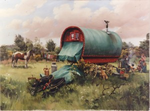 Gypsy Camp Paintings by Diana Rosemary Lodge