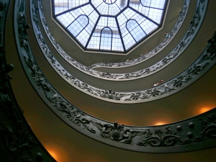 Vatican Museum - Circular Staircase
