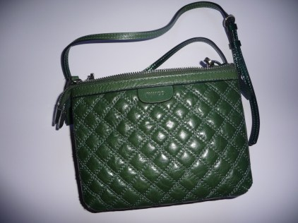My trusty Mimco Hip Bag reverse side quilted