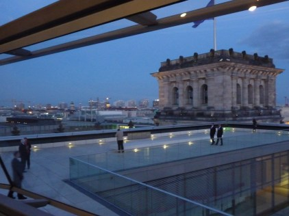 The roof of the Reichstag Building