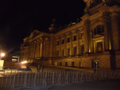 Front of the Reichstag Building Berlin