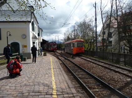 The little train at Oberbozen