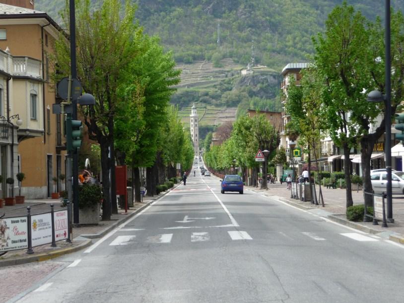 Main street Tirano