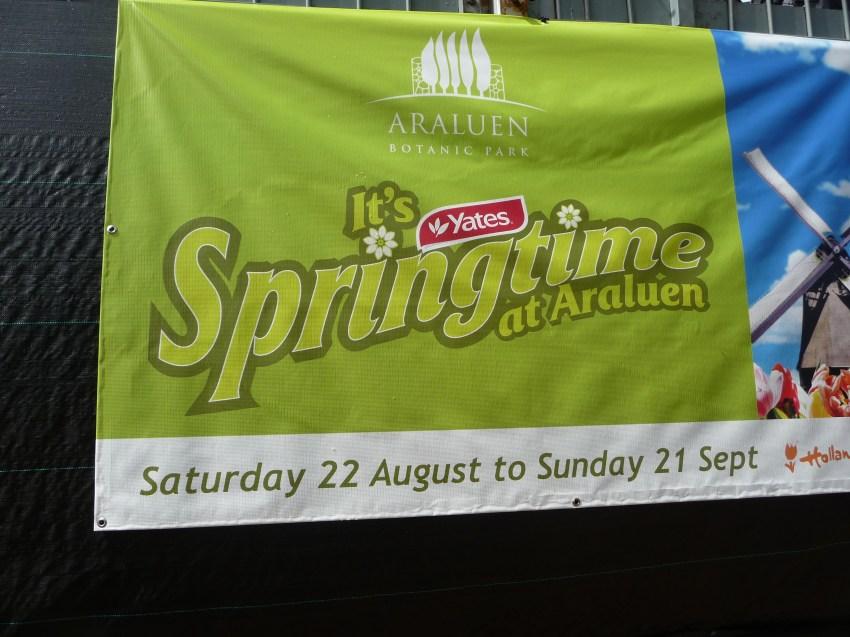 Araluen Spring Festival Poster