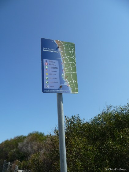 Signpost along the route